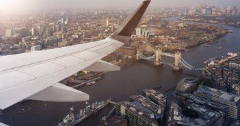 Plane London UK